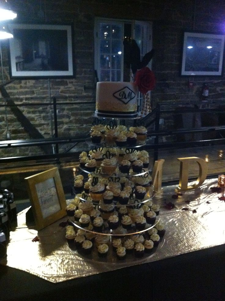 Cupcake tower of love