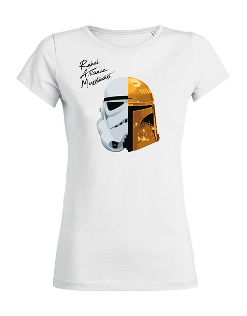 T Shirt Daft Punk Star Wars Tribute Band Femme/Women