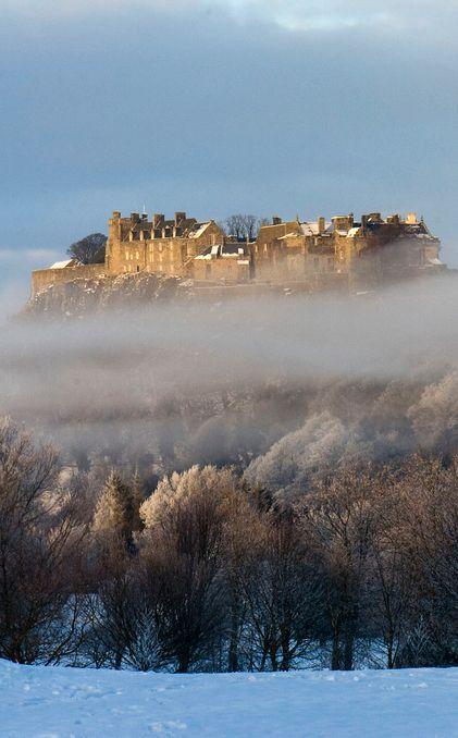 Stirling Castle, Scotland ....♥♥....