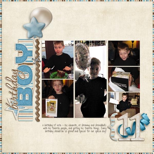 Birthday Boy - Scrapbook.com | Scrapbooking Ideas | Pinterest