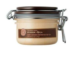 The Body Shop Africa Honey & Beeswax Hands & Foot Butter 125ml: Amazon.co.uk: Beauty 120 vs 190 kr in shop