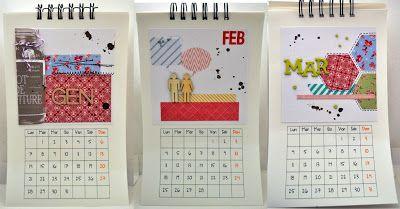 1 post creativo al giorno: #8/365 Calendario da appendere