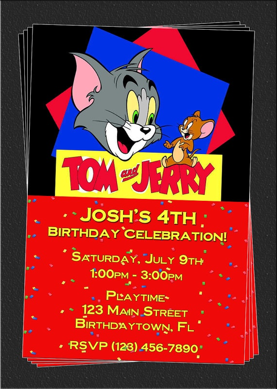The 73 Best Tom Jerry Party Images On Pinterest Tom And Jerry