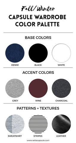 Create a Wardrobe Color Palette – VETTA