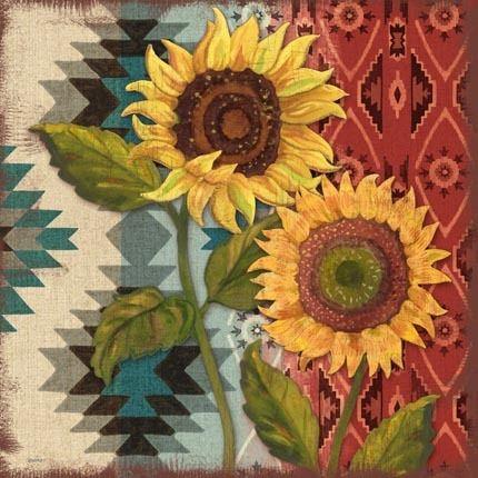 native-sunflowers-blanket