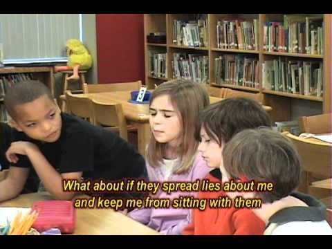 These are awesome bully prevention videos with actual elementary students demonstrating how to handle a bullying situation.