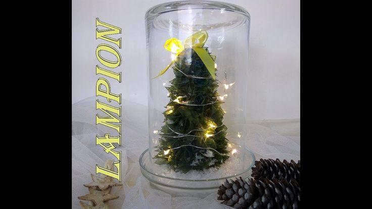 Świąteczny lampion prosty i szybki#Christmas lantern simple and fast