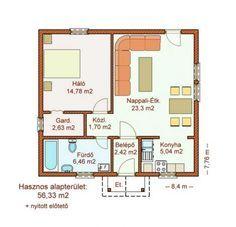 Olcsó kis és közepes alapterületű könnyűszerkezetes házak
