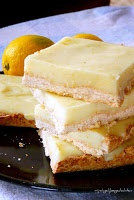 Light Lemon Coconut Bars/Легкие Лимонно-Кокосовые Пирожные