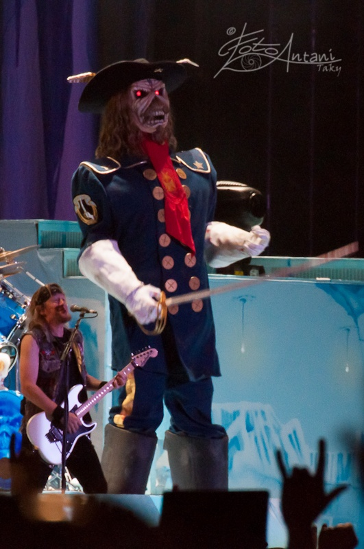Iron Maiden al Sonisphere - Le Foto