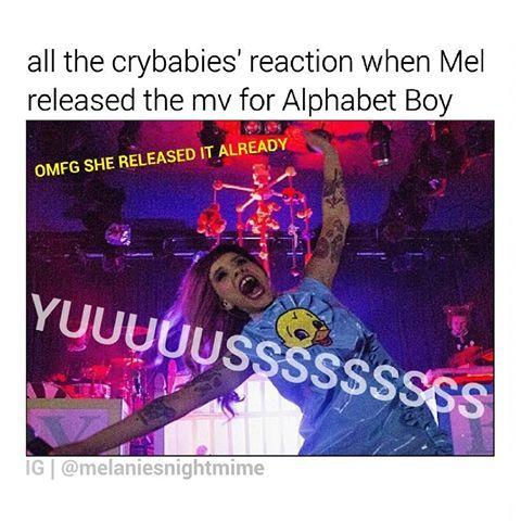 WHAT DO U THINK IS THE TITLE OF THE NEXT SONG THAT MEL'S GONNA RELEASE? ♥ ♥ #melaniemartinez #littlebodybigheart #limecrime #makeup #cuteness #meme #love #crybabytour #crybabyalbum #crybabies #crybaby #gains #gainpost #gaintrick #teddybear #cake #carousel #dollhouse #soap #sippycup #playdate #music #alternative #radio #artist #troyesivan #lanadelrey #halsey #twentyonepilots #marinaandthediamonds