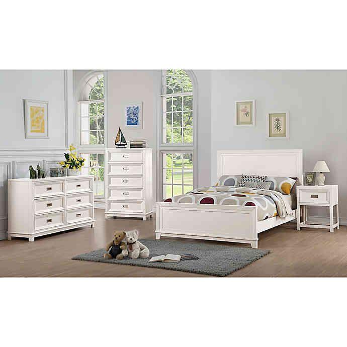 Campaign Wooden 4 Piece Bedroom Set Bed Bath Beyond Kids Bedroom Sets Contemporary Bedroom Sets Bedroom Sets
