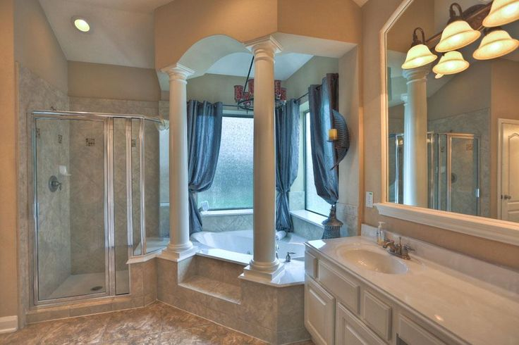 Best 25 yellow mediterranean bathrooms ideas only on Roman style bathroom designs