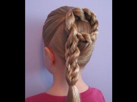 Прическа для девочки в школу. Прически на длинные волосы.https://www.youtube.com/watch?v=OC2YKt7vXbo