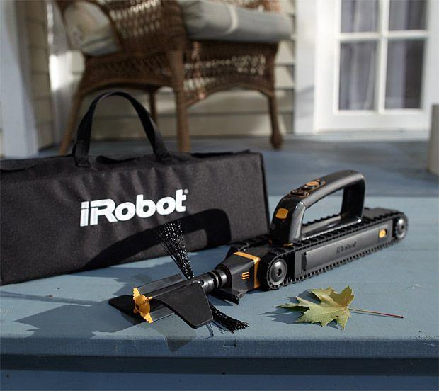 iRobot Looj 330 | A robot to clean your gutters. |: Looj 330, Clean Boys, Irobot Gutter, Gutter Clean Looj, Gutter Cleaners, Roomba Robots, Irobot Looj, Lawn Chairs, Irobot Updates