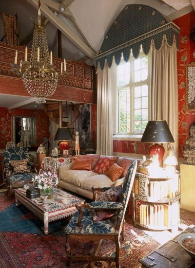 661 Best Images About Color: Red Rooms I Love On Pinterest