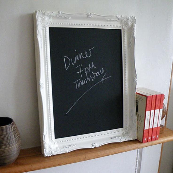 Decorative Chalkboards For Home: Decorative Frame Chalkboard
