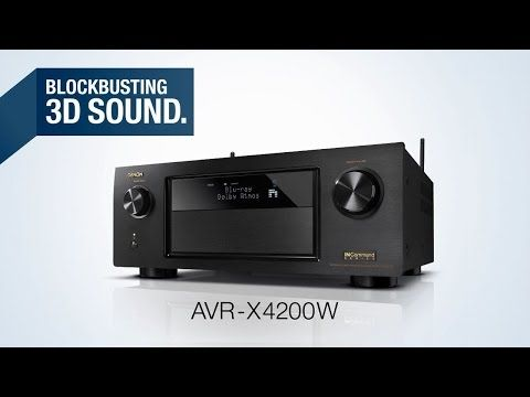 Denon AVR-X4200W I 7.2 Channel Bluetooth and Wi-Fi A/V Receiver