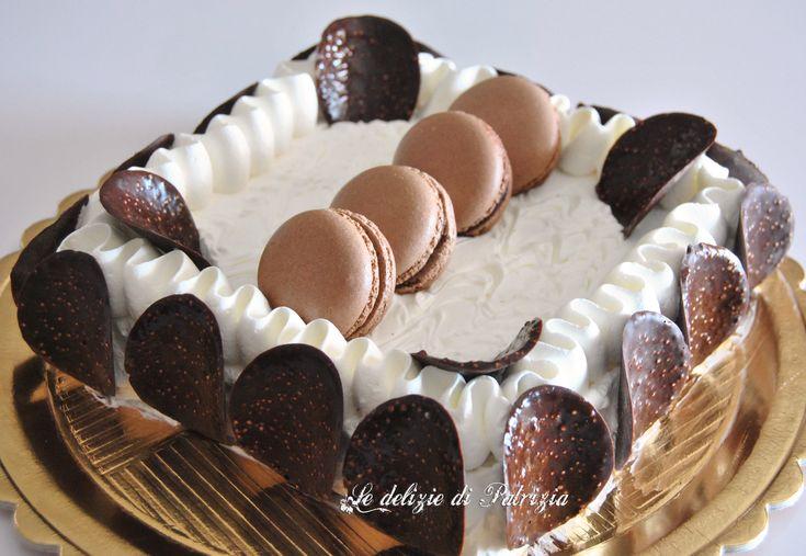Torta Brownie ©Le delizie di Patrizia Gabriella Scioni  Ricette su:  Facebook: https://www.facebook.com/Le-delizie-di-Patrizia-194059630634358/ Sito Web: https://ledeliziedipatrizia.com