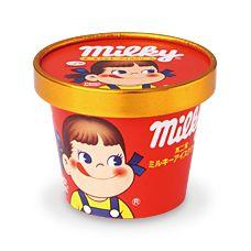 Fujiya Milky ice cream cup
