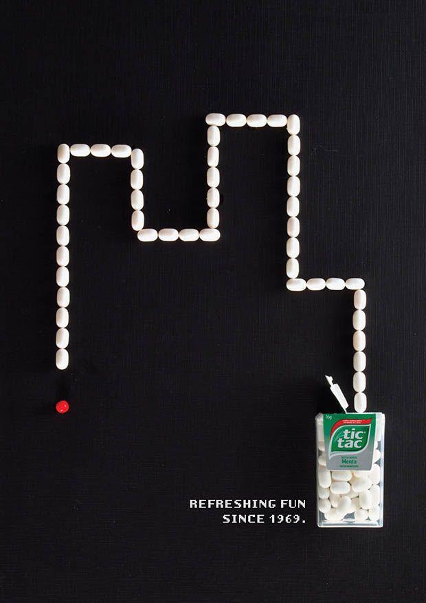 Tic Tac rend hommage aux jeux rétro avec cette campagne judicieuse.