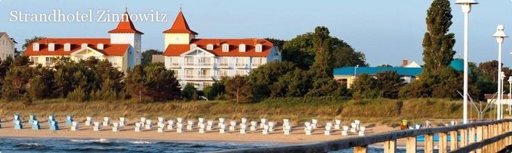 Travel Charme Strandhotel Zinnowitz - 4-Sterne-First-Class Hotel auf Usedom an der Strandpromenade zur Ostsee.
