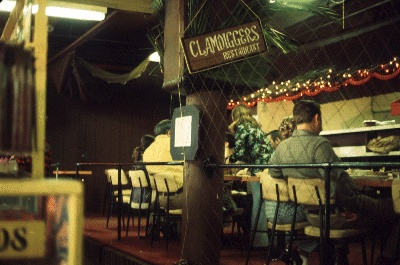 Clamdiggers Restaurant, circa 1973