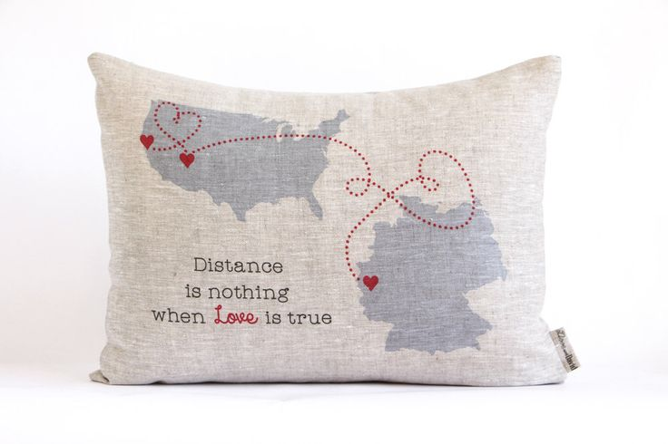 Cute Long Distance Pillow : 25+ unique Long distance relationship pillow ideas on Pinterest Long distance pillow, DIY ...