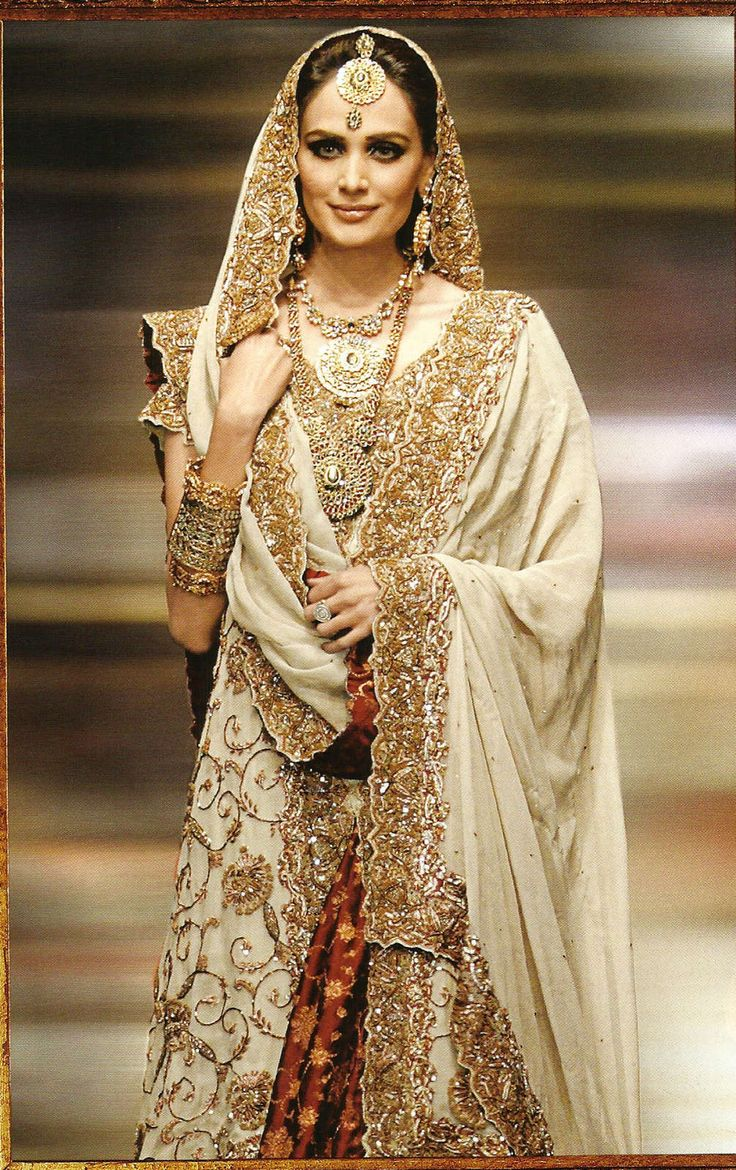 Indian Wedding Dresses Gold Photos HD