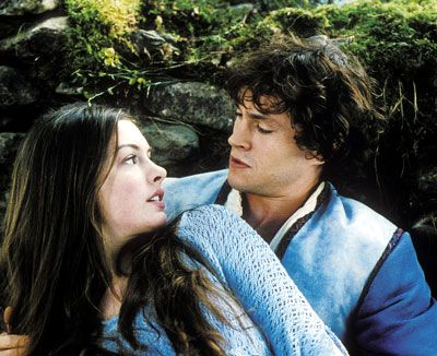 Ella Enchanted. completely different from the book, but still a good story a great tween movie