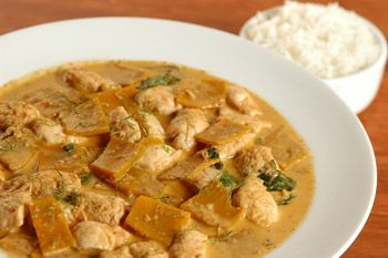 TAILÂNDIA: Receita de curry tailandês de filé-mignon com abóbora