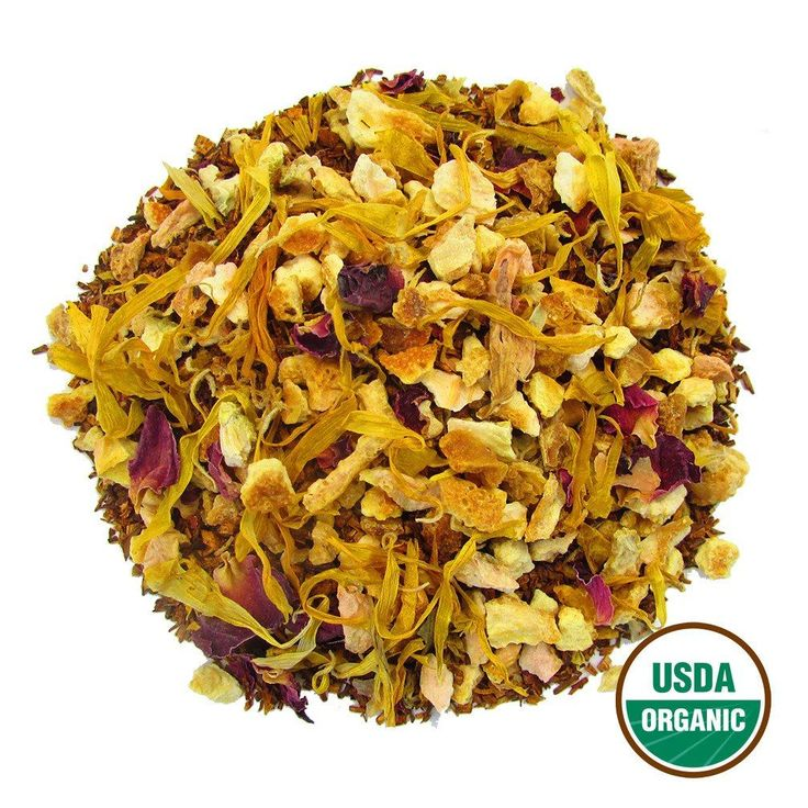 Organic Citrus Blossom Loose Leaf Tea | Rooibos Caffeine Free 2oz Tin – Full Leaf Tea Company