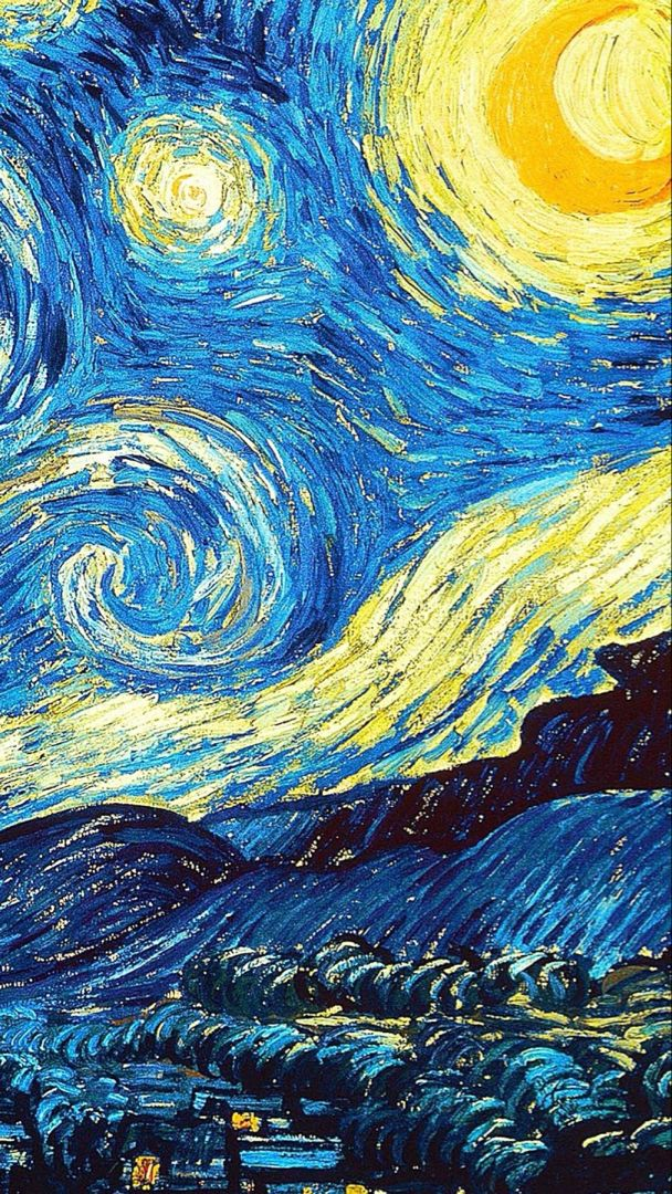 Pin By Jess Gomez On Wallpapers Van Gogh Wallpaper Starry Night Van Gogh Starry Night Painting
