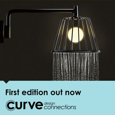 Curve design connections is a new, design-rich monthly web app for iOS and Android devices. Our first edition features a stunning lamp-shower, light-as-air runners and a hand-crafted vintage electric bike. Subscribe and get direct access to well-designed products and where to find them. Subscribe now for direct access at http://designconnections.curvelive.com/Subscribe