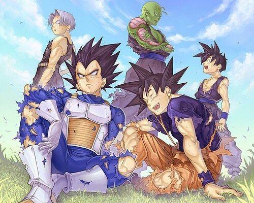 La amistad nunca se rompe, esto si es verdadera infancia #dragonball #dragonballz #dragonballsuper