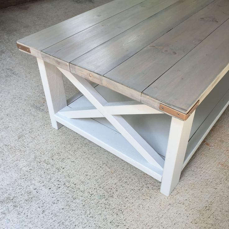 Rustic X Coffee Table Woes | Do It Yourself Home Projects from Ana White
