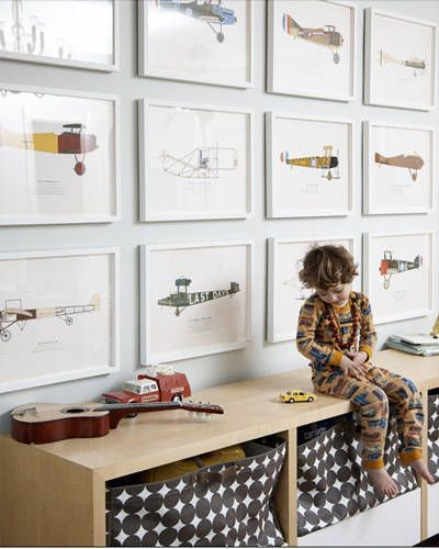 """""""You don't want to have to close the doors to the kids rooms,"""" says Christiane Lemieux, founder and creative director of DwellStudio, and author of Undecorate. """"Storage is key for hiding some of the plastic stuff you hate to look at—because even if you swear it will never cross the threshold of your house, it will."""" The secret she says is to let it go and embrace your child's presence in the home.    - ELLEDecor.com"""