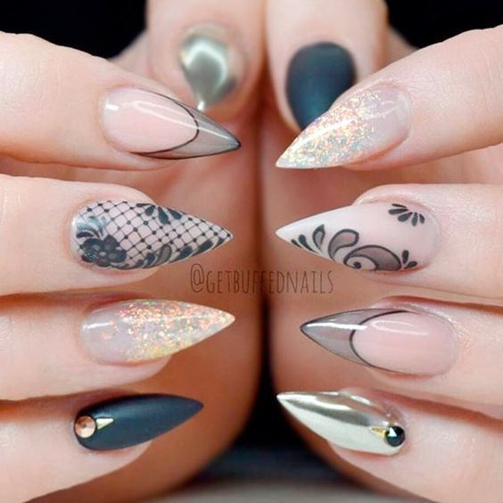 best 25 short fake nails ideas on pinterest fake nail ideas fake acrylic nails and natural. Black Bedroom Furniture Sets. Home Design Ideas