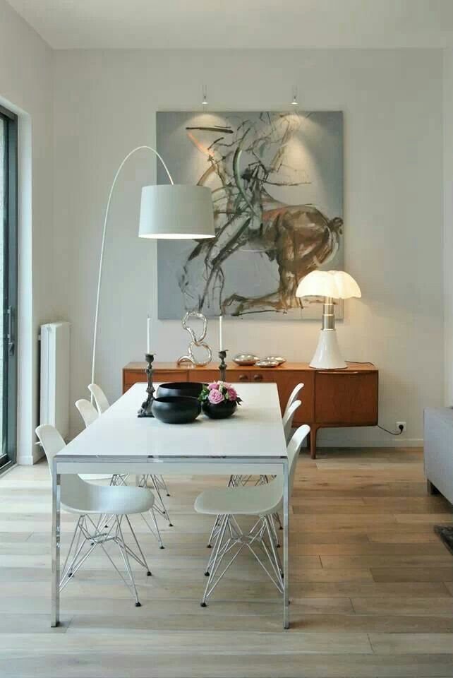 Dining Room Decor Ideas and Inspirations. See also: http://www.brabbu.com/en/inspiration-and-ideas/