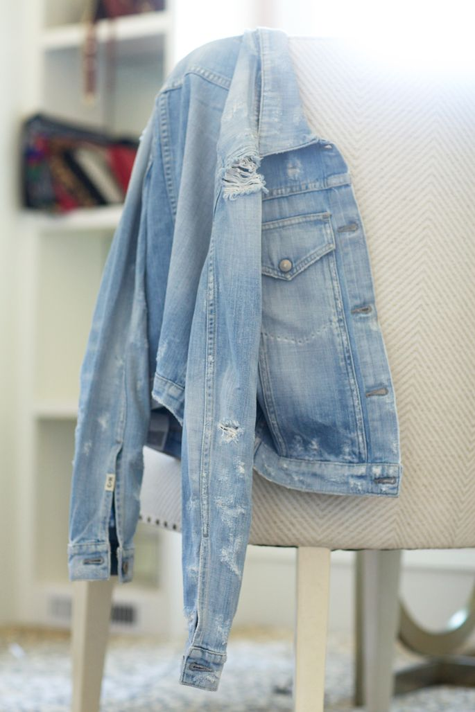 distressed-demin-jacket-citizens-of-humanity   Pink Peonies blog