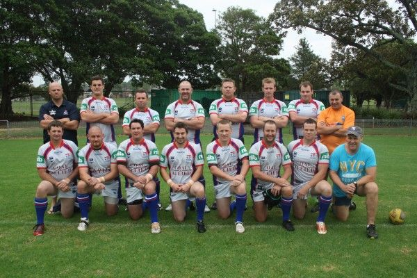 The Country North Cowboys 2013 Police Rugby League team.