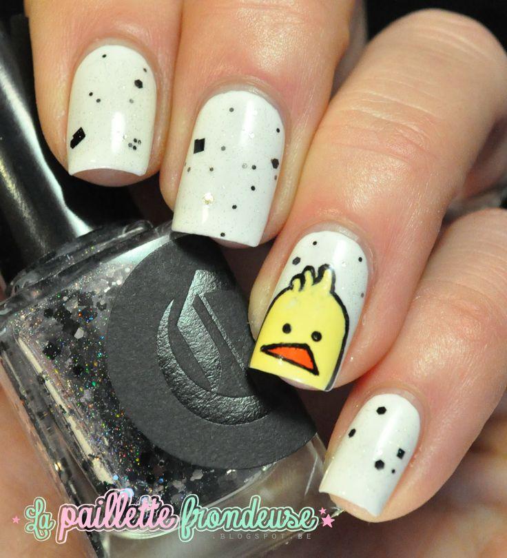 Nailstorming bande dessinées, manucurist blanc, cirque débris, le blog de frederic noens #nail #nails #nailart http://lapaillettefrondeuse.blogspot.be