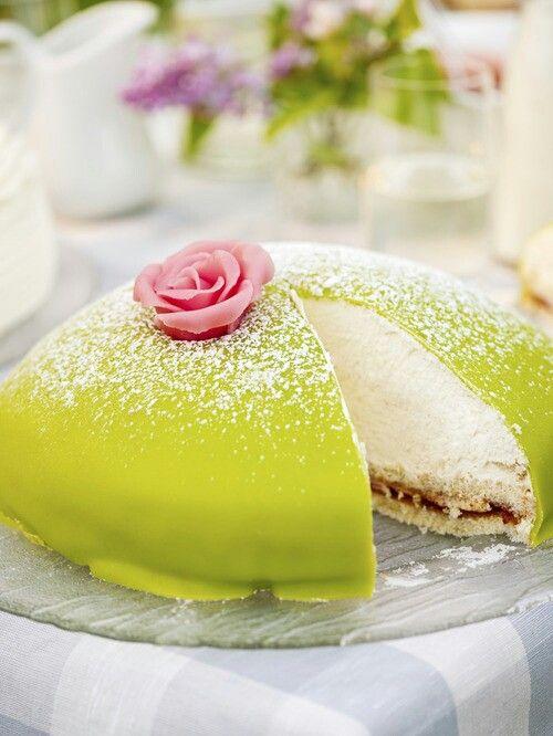 Torta della principessa- dolce svedese