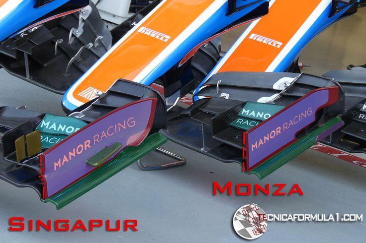 Análisis técnico del equipo Manor en los GPs de Singapur y Malasia  #F1 #MalaysiaGP