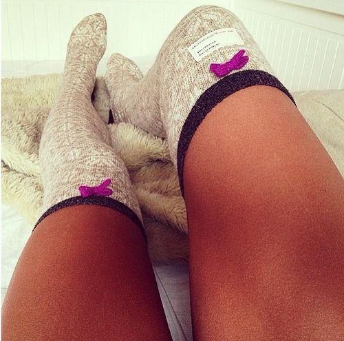 Thigh high socksies