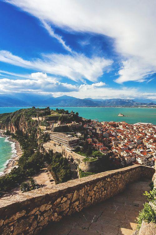 Nafplio, Greece. I remember this exact spot ;) -Crista A. McDonald