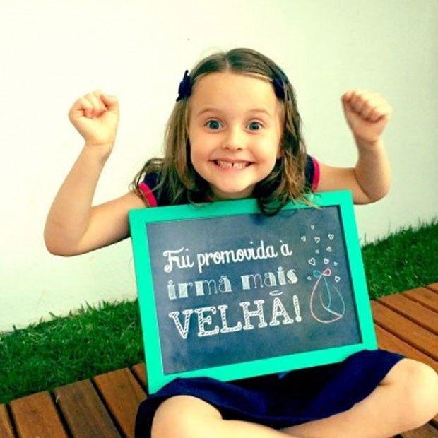Luísa: promovida à irmã mais velha (Foto: Divulgação/ Fernanda Rodrigues)