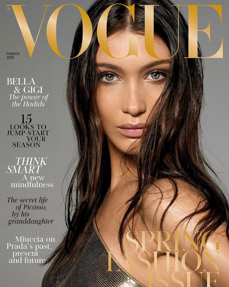 "@bellahadid) on Instagram: ""My @BritishVogue cover! All my love to you sweet, sweet @edward_enninful and all at…"""