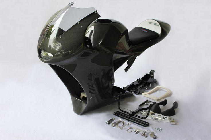 Bodywork Set, (Carbon), MRX, MSX125 Grom