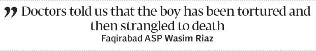 One more mystery: Another child turns up dead in Yousafabad - The Express Tribune